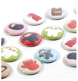 Shawnimals Buttons by BusyBeaver.net