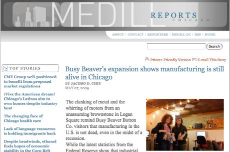 BusyBeaver.net in Northwestern University Journal