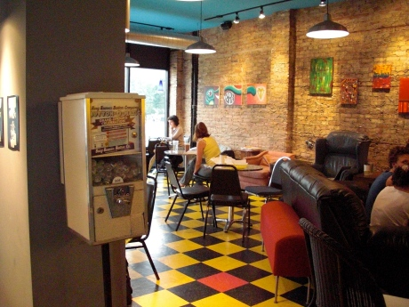 New Wave Coffee in Logan Square
