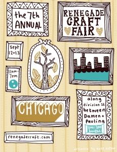 Busy Beaver sponsors Renegade Craft Fair