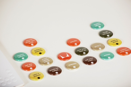 Tandem Design Buttons for Herman Miller