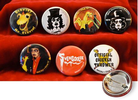 Svengoolie 30th Anniversary Buttons