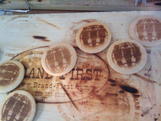 wood branding